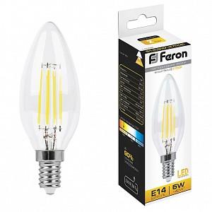 Лампа светодиодная LB-58 E14 230В 5Вт 2700K 25572