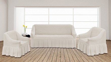 Набор чехлов для дивана и кресел (210x70x60 см) KC