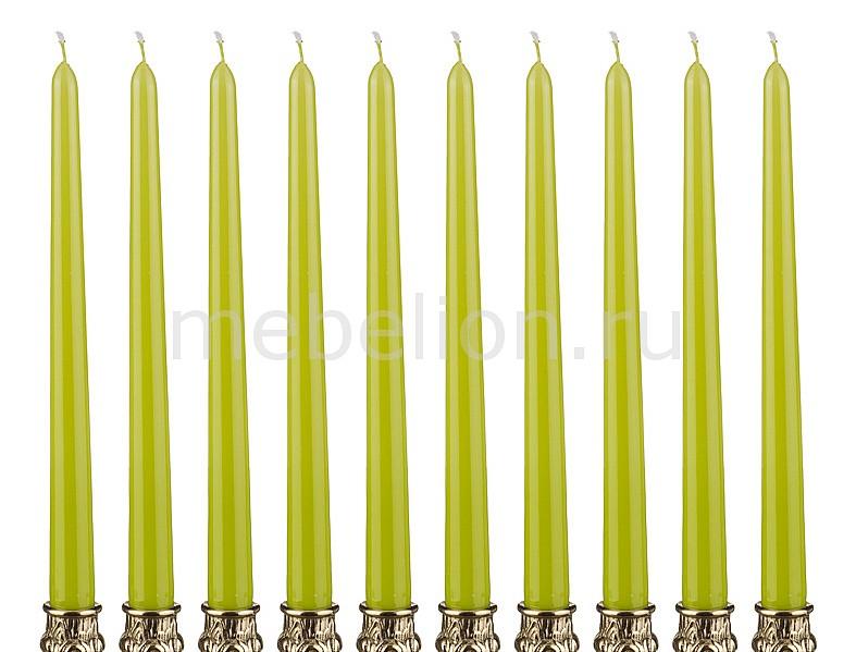 Свеча декоративная АРТИ-М Набор из 10 свечей декоративных 348-376 крючок декоративный арти м набор из 3 крючков декоративных 189 117