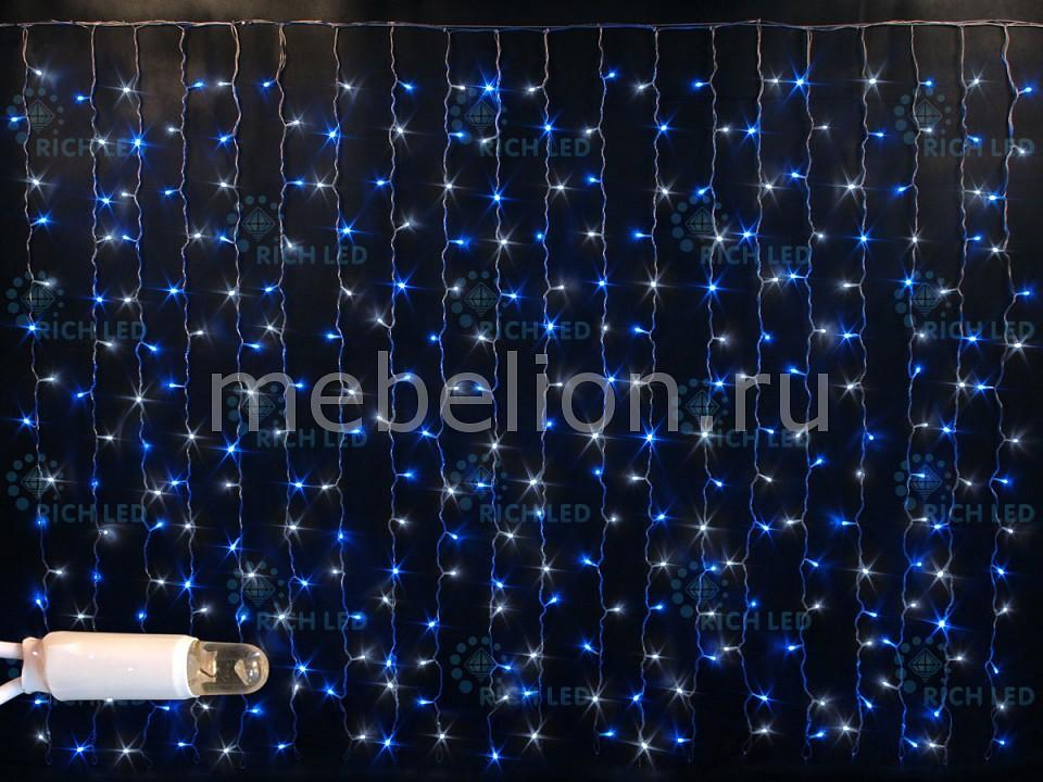 Светодиодный занавес RichLED RL_RL-CS2_1.5-CW_BW от Mebelion.ru