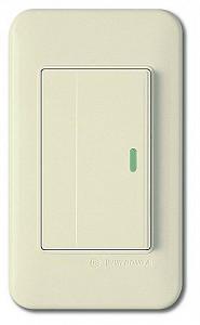 Выключатель одноклавишный с подсветкой 5453