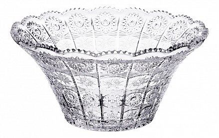 Чаша декоративная (26х12 см) Muza Crystal 695-013