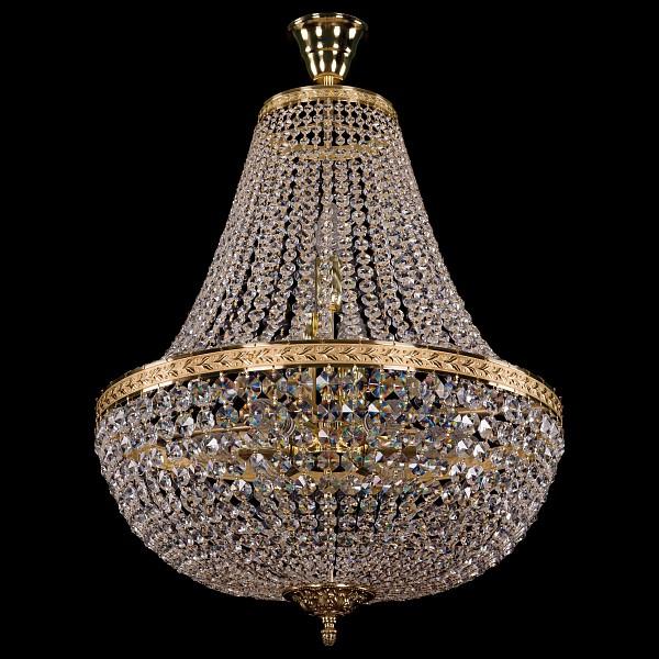 Люстра на штанге 2150/50/G Bohemia Ivele Crystal 2150/50/GD  (BI_2150_50_GD), Чехия