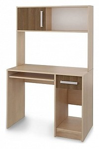 Стол компьютерный Мика СТЛ.121.02 дуб кремона/ясень кассино
