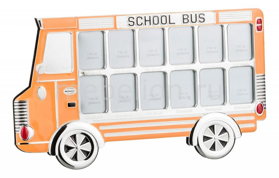 Мультирамка АРТИ-М (29x16.7 см) Автобус 363-509 арти м 8х14 см серебряный цветок 167 121