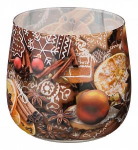 Свеча декоративная (6x7 см) Имбирный пряник 348-436