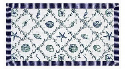 Коврик прикроватный (65x115 см) Blue