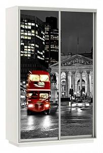 Шкаф-купе Экспресс Фото Дуо Ночной Лондон 1400x600x2200