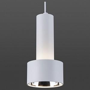 Подвесной светильник DLR033 9W 4200K 3300 белый/хром