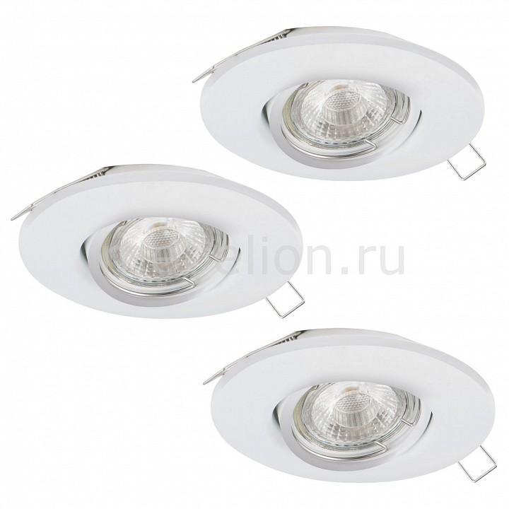 Купить Комплект из 3 встраиваемых светильников Peneto 1 95895, Eglo