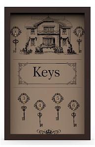 Ключница (29х45 см) Keys KD-041-020