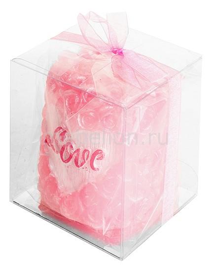 Свеча декоративная Гифтман (5.6х6.1 см) Love 16285 икона нательная гифтман алла мельхиор с посеребрением гифтман 79549