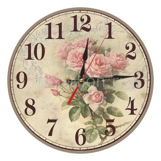 Настенные часы Акита (40 см) Розы C40-15 цена и фото