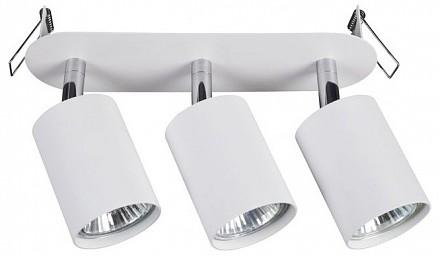 Спот поворотный Eye Fit, 3 лампы GU10 по 35 Вт., 4.9 м², цвет белый матовый