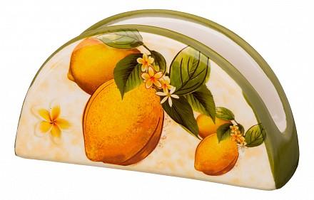 Салфетница (13.5х4х7 см) Лимоны 358-1130