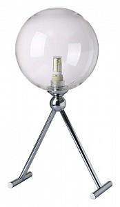 Настольная лампа декоративная FABRICIO LG1 CHROME/TRANSPARENTE