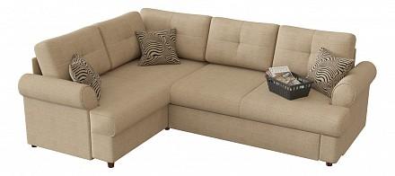 Угловой диван-кровать Мирта (Милфорд) дельфин / Диваны / Мягкая мебель