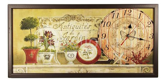 Настенные часы Акита (60х30 см) AKI 3060-4