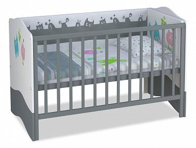 Детская кровать Polini Basic Монстрики TPL_0001184-2