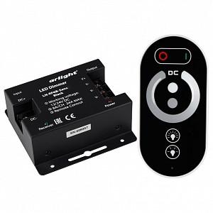 Контроллер-диммер с пультом ДУ LN-RF6B-Sens Black (12-24V, 3x8A)