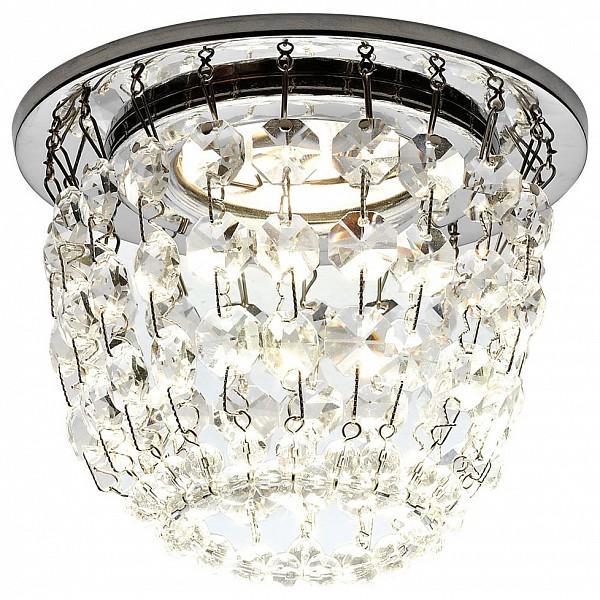 Встраиваемый светильник Crystal K2075 CH/CL Ambrella AMBR_K2075_CH_CL