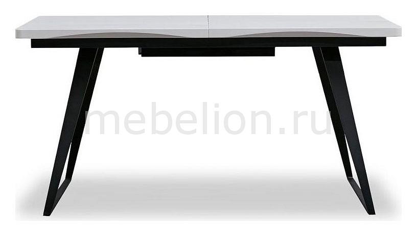 Кухонный стол ESF ESF_DT-93_black_white от Mebelion.ru