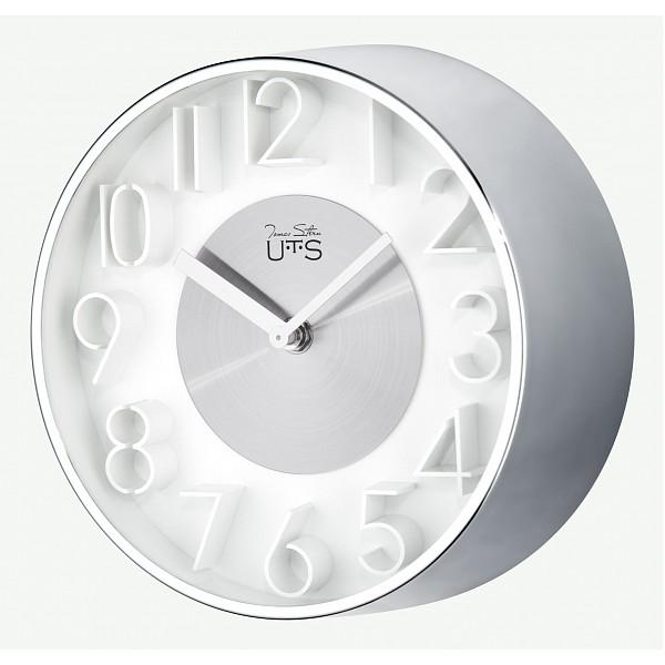 Настенные часы (20 см) С объемными цифрами 4016S фото