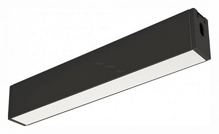 Модульный светильник CLIP-38-FLAT-S312-6W Warm3000 (BK, 110 deg, 24V) 029003