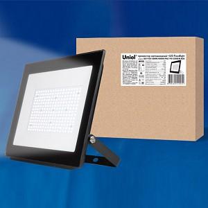Настенный прожектор ULF-F20 ULF-F20-200W/4000K IP65 195-250В BLACK