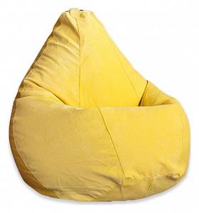 Кресло-мешок Желтый Микровельвет 3XL