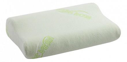 Подушка ортопедическая (30х47х10 см) Алоэ вера