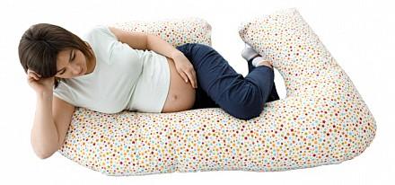 Подушка для беременных (110x60 см) Звездочки