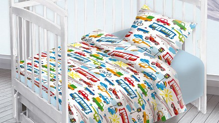 Детское постельное белье Городское движение