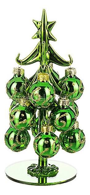 цена на Ель новогодняя с елочными шарами АРТИ-М (16 см) ART 594-092