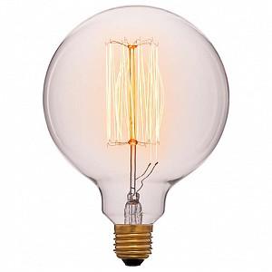 Лампа накаливания G125 E27 240В 40Вт 2200K 052-016a