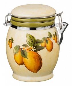 Банка для пищевых продуктов (15 см) Лимоны 358-1127