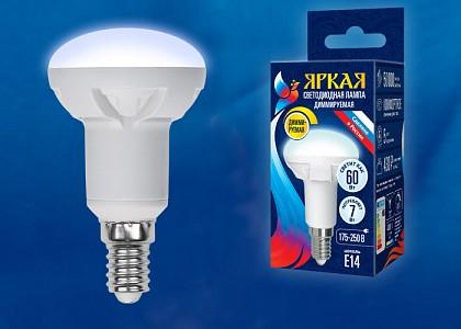 Лампа светодиодная [LED] Uniel E14 7W 4000K