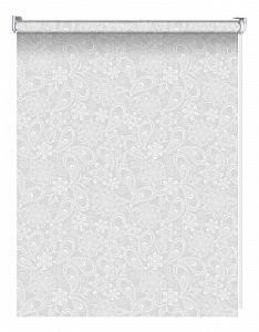 Штора рулонная Блан 62x160 см., цвет белый