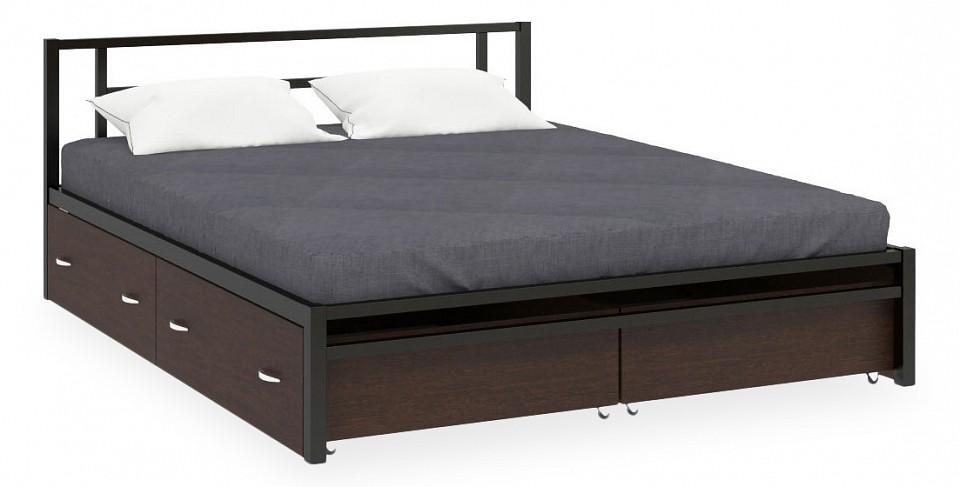 Кровать двуспальная Титан