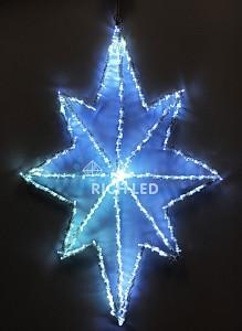 Снежинка световая (0.4 м) RL-ST60-W