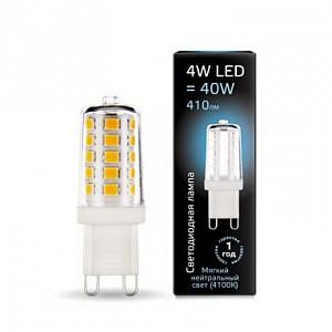 Лампа светодиодная 1073 G9 185-265В 4Вт 4100K 107309204