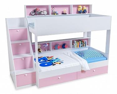 Двухъярусная кровать размером 190х90 Golden Kids 10 FSN_4S-GK_10-KB-FR