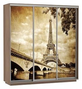 Шкаф-купе Экспресс Фото Трио Париж 2100x600x2400