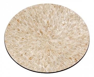 Блюдо декоративное (40х6 см) Золотой песок VP-21