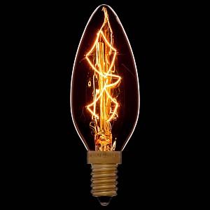 Лампа накаливания C35 E14 240В 40Вт 2200K 052-085