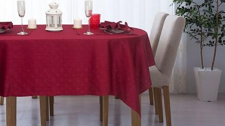 Скатерь с салфетками (140x140 см) Печворк