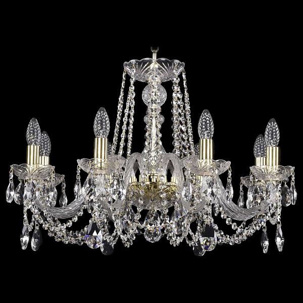 Подвесная люстра 1402/8/240/G Bohemia Ivele Crystal  (BI_1402_8_240_G), Чехия