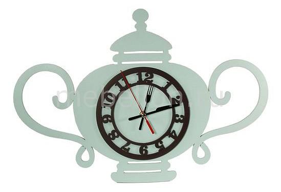 Настенные часы Акита (49х33.5 см) Чаепитие N-28 подставка для цветов акита домик n 126 1