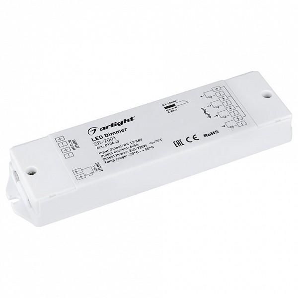 Контроллер-диммер SR-2001 (12-36V, 240-720W, 1-10V, 4CH)