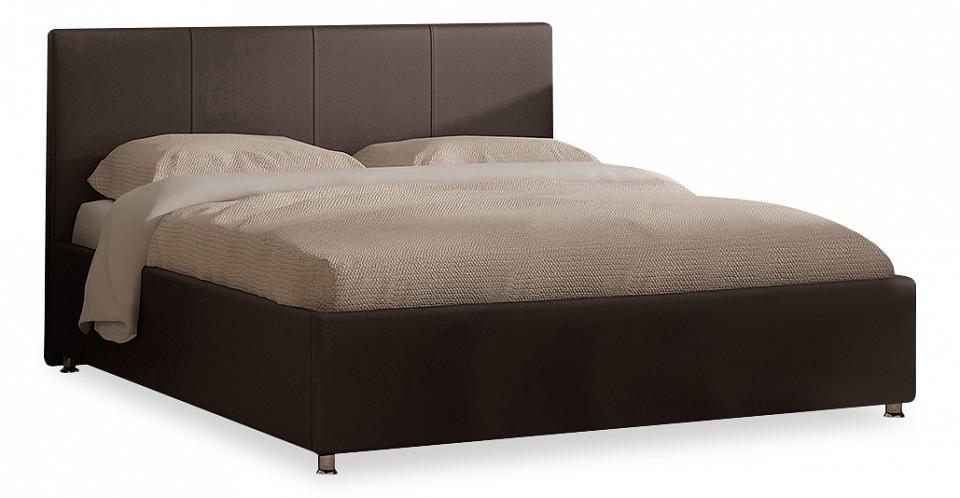 Кровать двуспальная с матрасом и подъемным механизмом Prato 180-200